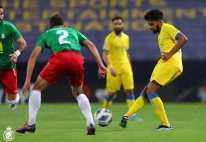 التعادل السلبي يخيم على مباراة الوحدات  والنصر السعودي