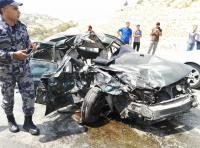 وفاة وإصابتان بحادث تصادم في معان