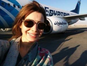 بتلك الصورة وبهذه الكلمات أسعدت نانسي عجرم المصريين (صور)