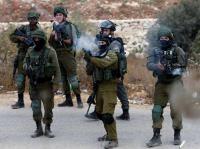 اصابة مواطن فلسطيني برصاص الاحتلال