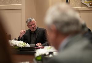 الملك: الأوروبيون أبدوا استعدادهم للوقوف جانب الأردن بقوة (صور)