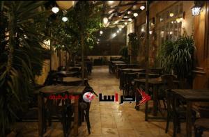 مقاهي عمان تخلو من روادها  ..  صور