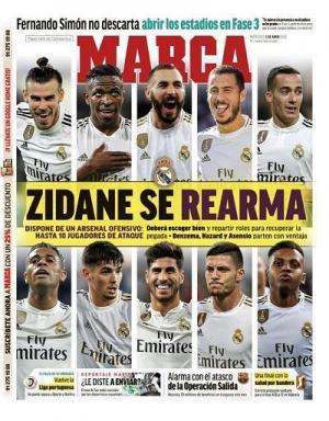 من الثلاثي الأقرب لتشكيل خط هجوم مدريد الأساسي؟