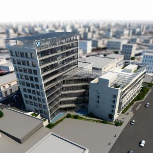 بنكABC يبدأ تنفيذ اعمال مشروع توسعة مبنى الإدارة الجديد