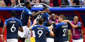 فرنسا لنهائي المونديال