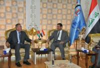 الراشد يبحث مع السفير الأردني بالعراق أفاق التعاون المشترك