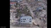 منزل وحيد صمد في وجه الإعصار ..  ومالكه يكشف السر (شاهد)