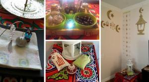 اردنية تقرر إحضار أجواء رمضان إلى بيتها الأمريكي (صور)