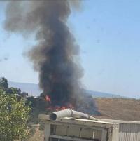 إطلاق 3 صواريخ من لبنان و الإحتلال يرد بقذائف مدفعية