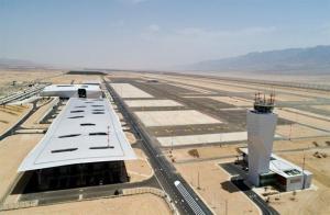 رغم الاعتراض الاردني ..  الاحتلال يفتتح مطاره الجديد (صور)