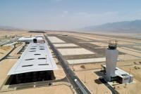 رغم الاعتراض الاردني ..  الاحتلال يفتتح مطاره الجديد قرب الحدود (صور)