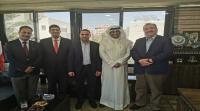 """بحث سبل التعاون المشترك بين """"الشرق الأوسط"""" والملحقية الثقافية الكويتية"""