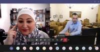 جلسة حوارية افتراضية في جامعة عمان الأهلية حول التفكير التصميمي