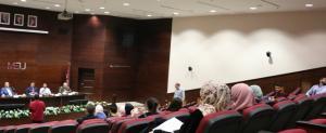جامعة الشرق الاوسط  تنظم  سلسلة لقاءات للطلبة  المستجدين