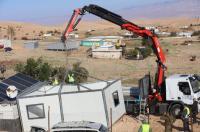 الخليل: قوات الاحتلال تهدم ثلاثة منازل في مسافر يطا
