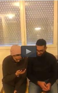 الملك والملكة يطمئنان على أردنيين تعرضا للإعتداء في فرنسا (فيديو)