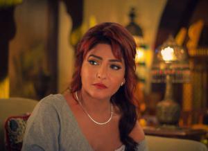 إصابة علا غانم ووالدتها ونجلتيها في حادث سير