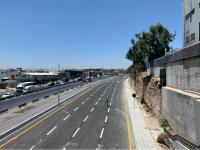 عودة حركة المرور في أوتوستراد عمان الزرقاء