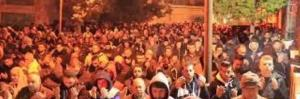 الآلاف في الحرم الإبراهيمي لمواجهة المخطط الصهيوني (فيديو)