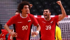يد مصر إلى تاريخ الأولمبياد ..  أول منتخب عربي بنصف النهائي