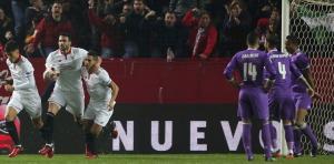 لعنة ريال مدريد تصيب إشبيلية