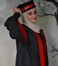 رهف ابو هديب ..  مبارك التخرج