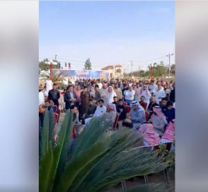 البادية الشمالية: مرشح يخالف اوامر الدفاع بتجمعات بالمئات!