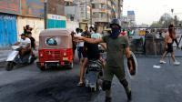 بغداد تريد تهدئة حركة الاحتجاجات