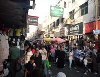 حركة نشطة بأسواق اربد
