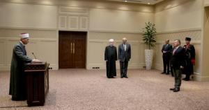 الصمادي يؤدي اليمين الدستورية امام الملك