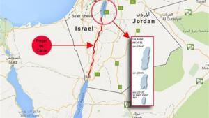 """""""تل أبيب"""" تسببت في تجفيف البحر والأردن يدفع الفاتورة"""