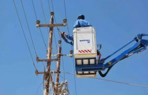 اعادة التيار الكهربائي لجميع مناطق الشونة الجنوبية