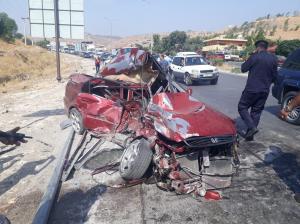 10 إصابات بحادثين في جرش والبلقاء