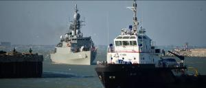 احتراق 7 سفن ايرانية في ميناء بوشهر