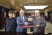 """تجديد اتفاقية الارتباط الأكاديمي بين """"عمان الأهلية"""" وكلية الزهراء العُمانية"""
