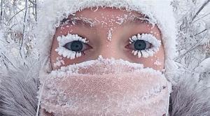 صور مُرعبة لأكثر قرية باردة في العالم (شاهد)