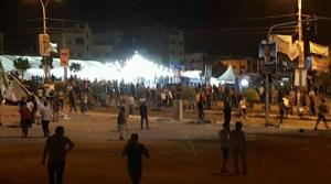 شغب في الزرقاء احتجاجاً على نتائج الانتخابات  ..  (صور)