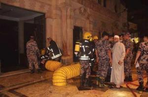 الملك يوجه بإعادة تأهيل مسجد الحسيني