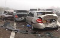 إصابتان بتصادم 6 مركبات في الياسمين