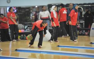 """55 لاعبا ولاعبه من الأردن يشاركون بألعاب البولينج في"""" الاقليمية التاسعه"""" بأبوظبى 2018"""