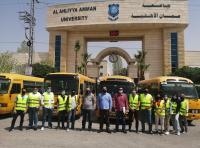 عمان الأهلية تطلق الحملة الخيرية لدعم الأسر العفيفة