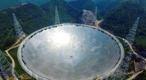 أكبر تلسكوب لاسلكي في العالم