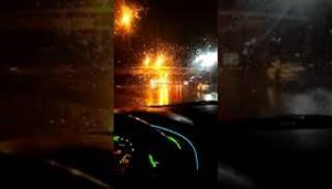 عواصف وأمطار رعدية بعدد من مناطق المملكة (فيديو)