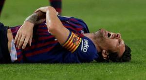 برشلونة: ميسي سيغيب 3 أسابيع بعد كسر يده اليمنى