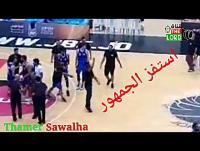 شغب عقب مباراة الوحدات والجبيهة (فيديو)