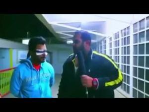 مذيع كويتي يضرم النار في ضيفه! (فيديو)