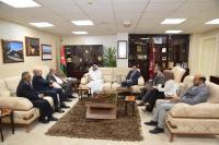 رئيس الجامعة الهاشمية يبحث التعاون المشترك مع الملحق الثقافي القطري