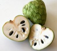 فوائد فاكهة القشطة للشعر