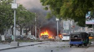 """15 قتيلا بهجوم مسلح على فندق بـ""""مقديشو"""""""
