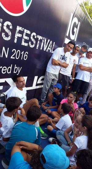 الأمير رعد يتوج الفائزين في مهرجان Lexus للتنس
